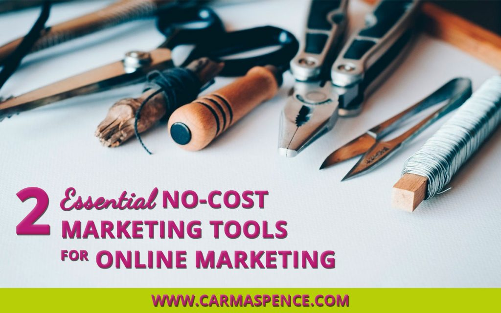Two Essential No-Cost Marketing Tools for Online Marketing