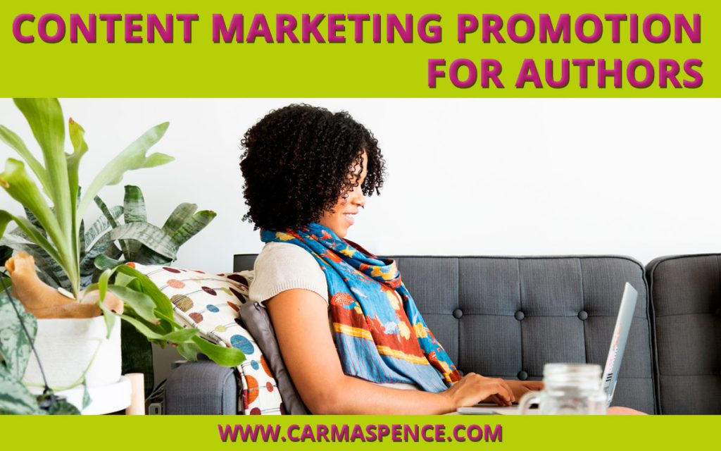 Content Marketing Promotion For Authors