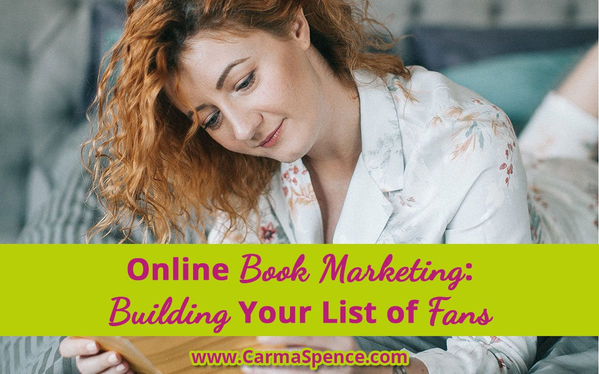 Online Book Marketing: Building Your List of Fans