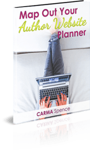 Map out your author website planner