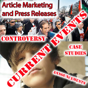 article marketing and press releases