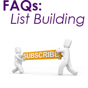 faq list building