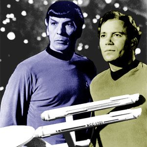 kirk and spock publicity photo, NBC Fox