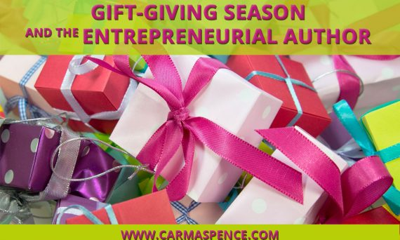 Gift-giving season and the entrepreneurial author