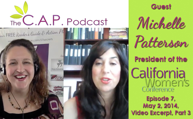 Michelle Patterson on The C.A.P. Podcast