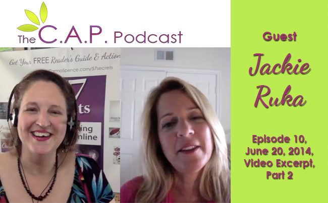 Jackie Ruka on The CAP Podcast, Part 2