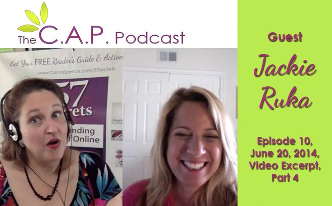 Jackie Ruka on The C.A.P. Podcast, Part 4