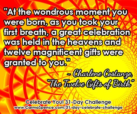 """""""...a great celebration was held in the heavens..."""""""