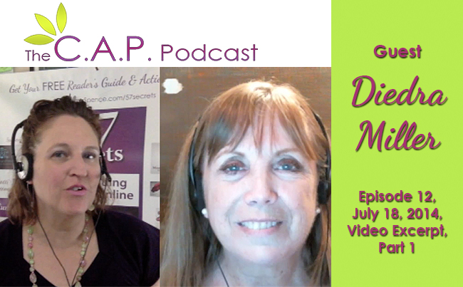 Diedra Miller on The C.A.P. Podcast