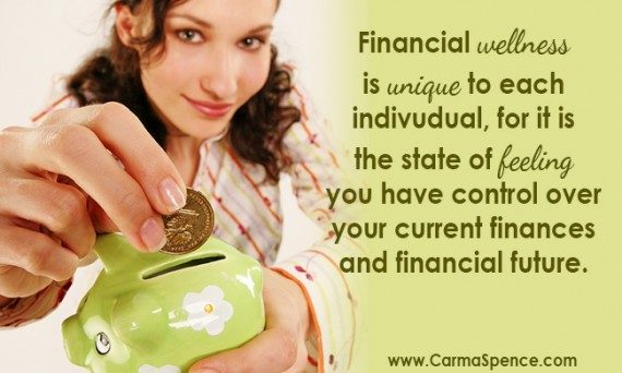 What does financial wellness mean to you?