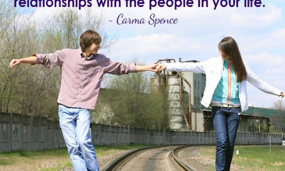 You deserve to have healthy, supportive relationships with the people in your life.
