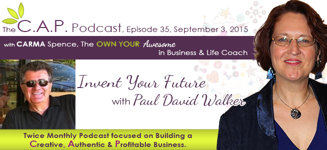 Paul David Walker on The C.A.P. Podcast