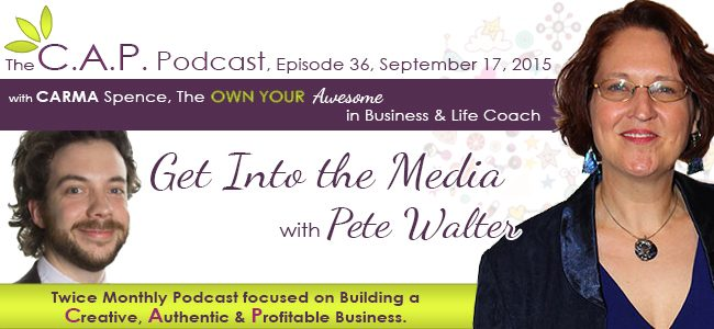 Pete Walter on The C.A.P. Podcast