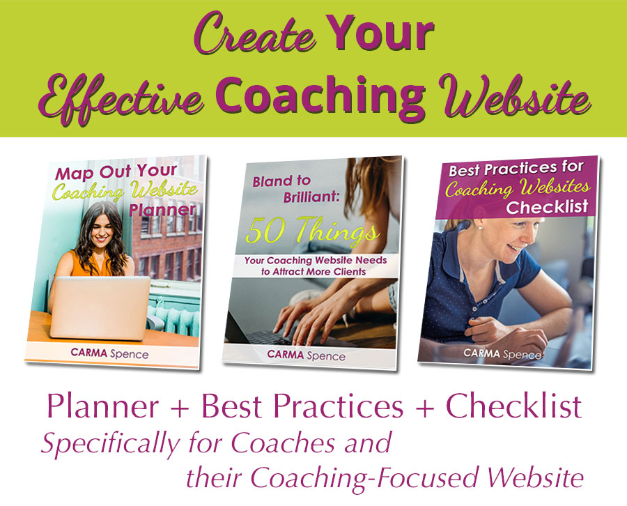Create Your Effective Coaching Website package image