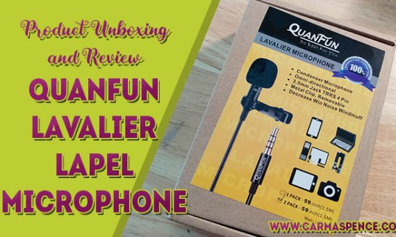 Product Unboxing and Review: QuanFun Lavalier Lapel Mic