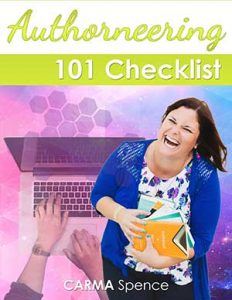 Authorneering 101 checklist