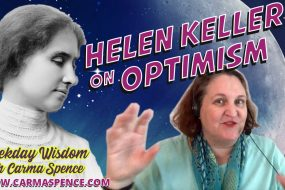 Helen Keller on Optimism