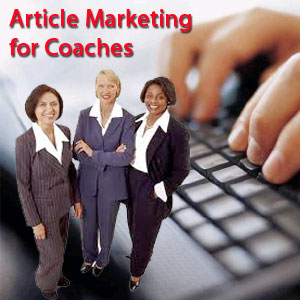 article marketing for coaches