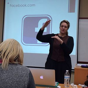 Carma Spence teaching how to market your club