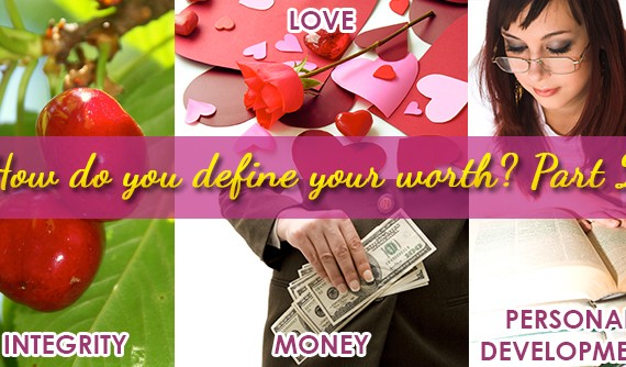 Integrity, Love, Money, Personal Development