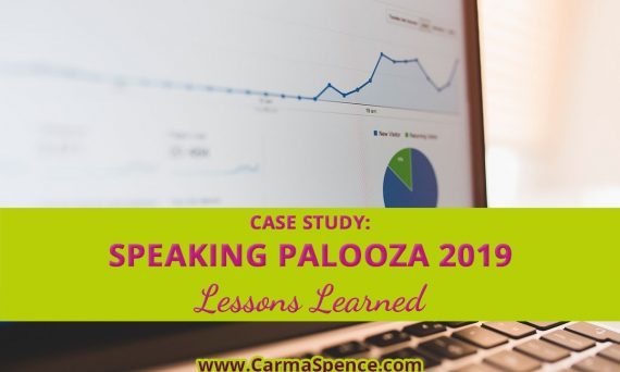 Case Study: Speaking Palooza 2019 lessons Learned