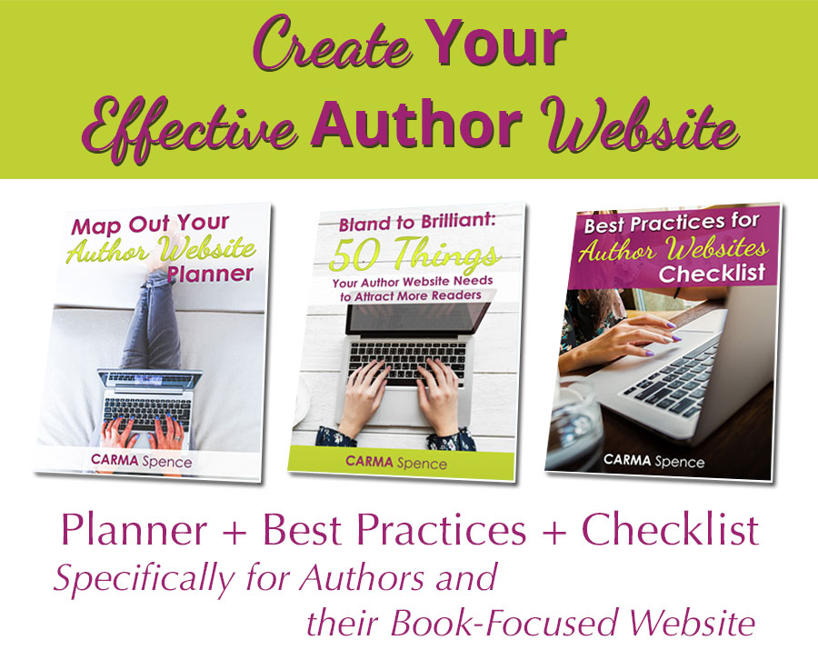 Create Your Effective Author Website package image